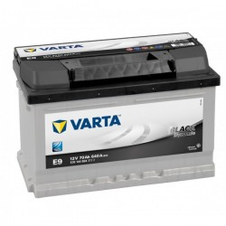 Varta Black Dynamic 70 Ah E9 12V 570144064