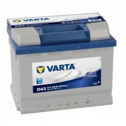 Varta Blue Dynamic 60 Ah D43 12V 560127054