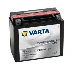 Varta AGM YTX20L-BS 18Ah 250A 12V 518901026