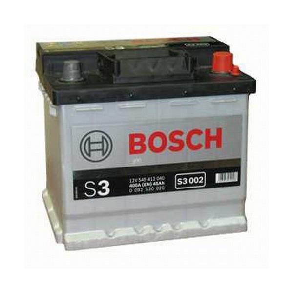Bosch S3 12V 45Ah 400A 0092S30020