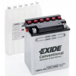 EXIDE BIKE 12N14-3A 12V 14Ah 130A