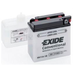 EXIDE BIKE 6N11-1B 6V 11Ah 95A