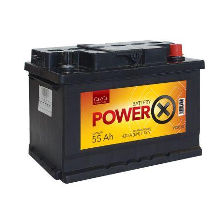 PowerX 55 Ah 12V