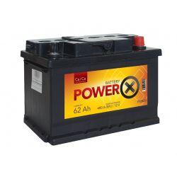 PowerX 62 Ah 12V