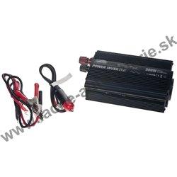 Menič napätia z 12 / 230V, USB, 300W