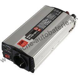 Menič napätia 24V / 230V, 500W, USB