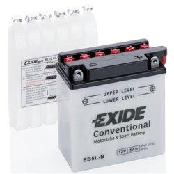 EXIDE BIKE EB5L-B 12V 5Ah 65A