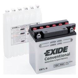 EXIDE BIKE EB7L-B 12V 7Ah 85A