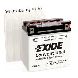 EXIDE BIKE EB9-B 12V 9Ah 100A
