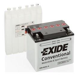 EXIDE BIKE 28Ah 12V E60-N24L-A 280A